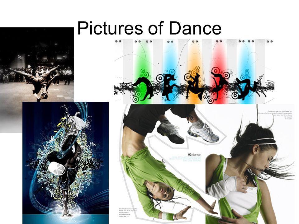 Street dance dnes lidé tančí hlavě pro radost nebo pro vypracování postavy a nebo protože se jim líbí typická hudba, která tento tanec provází.
