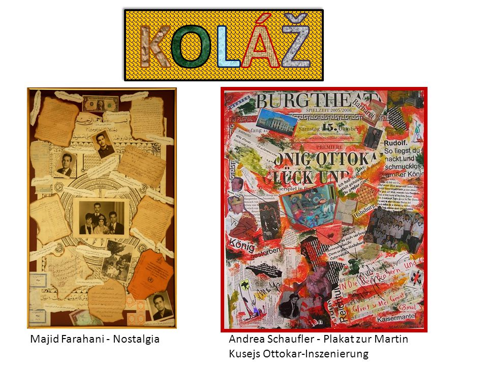 Majid Farahani - NostalgiaAndrea Schaufler - Plakat zur Martin Kusejs Ottokar-Inszenierung