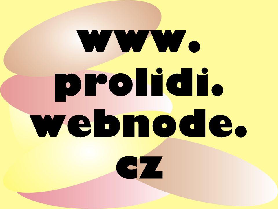 www. prolidi. webnode. cz