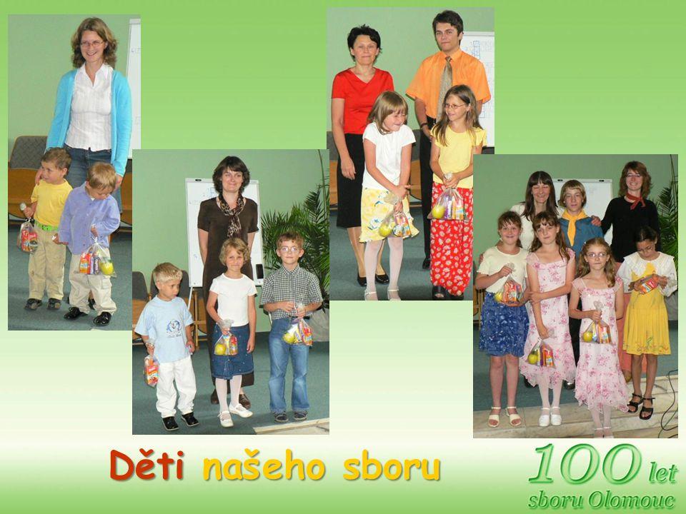 Děti našeho sboru