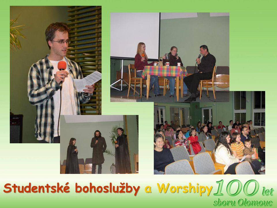 Studentské bohoslužby a Worshipy