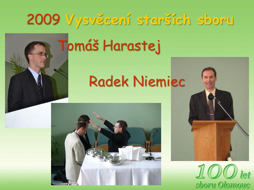 2009 Vysvěcení starších sboru Radek Niemiec Tomáš Harastej