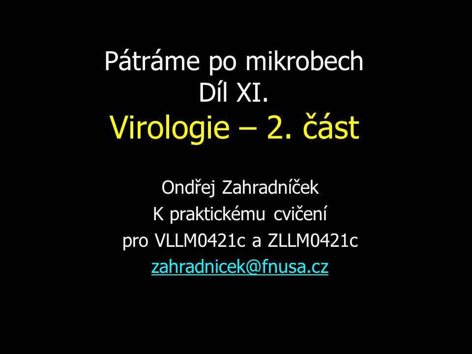 Pátráme po mikrobech Díl XI.Virologie – 2.