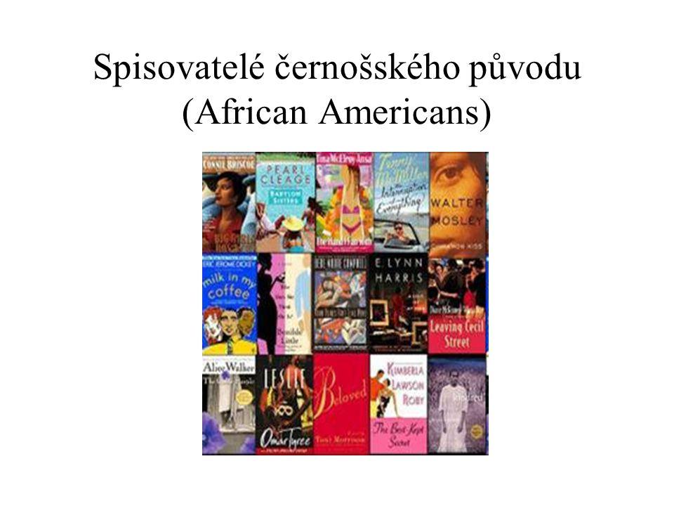 Spisovatelé černošského původu (African Americans)