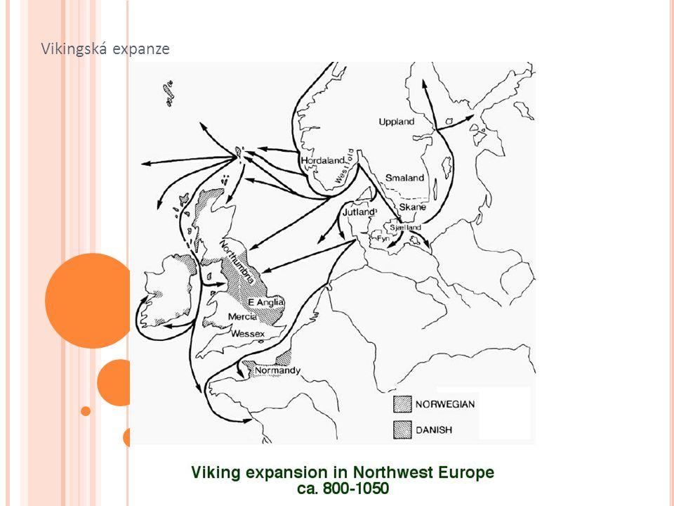 Norští Vikingové na poč.9. stol.