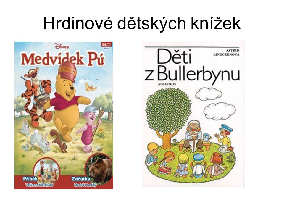 Hrdinové dětských knížek