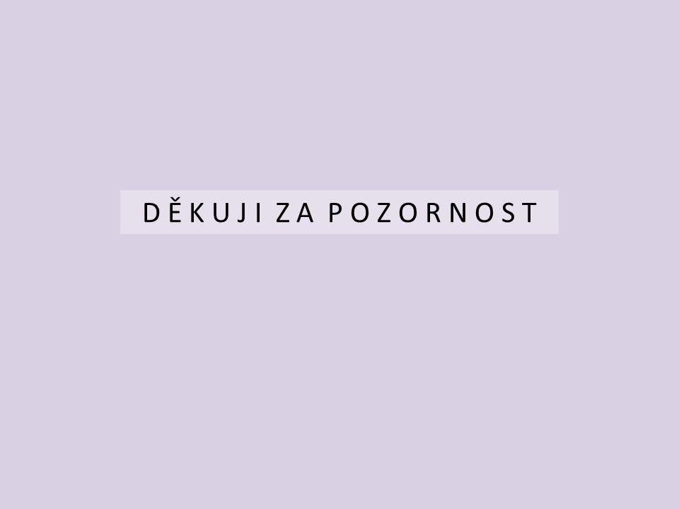 D Ě K U J I Z A P O Z O R N O S T