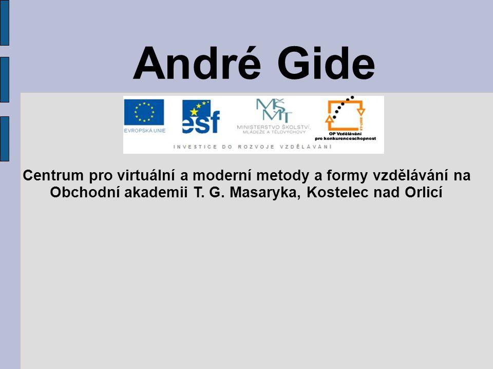 André Gide Centrum pro virtuální a moderní metody a formy vzdělávání na Obchodní akademii T. G. Masaryka, Kostelec nad Orlicí