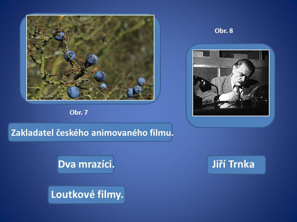 Zakladatel českého animovaného filmu. Loutkové filmy. Jiří TrnkaDva mrazíci. Obr. 7 Obr. 8
