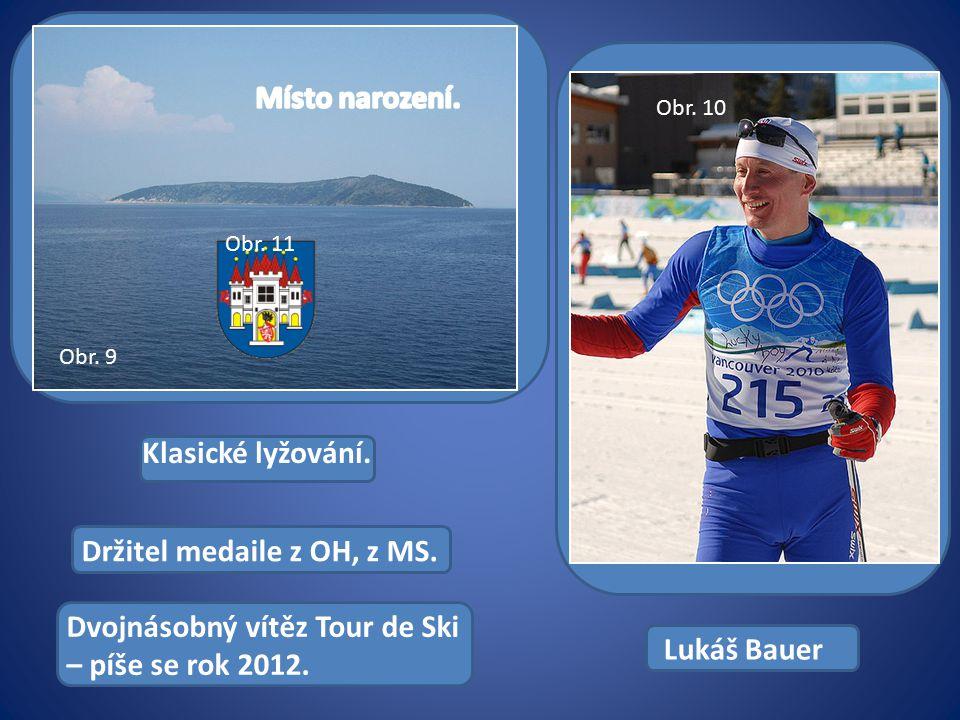 Klasické lyžování. Držitel medaile z OH, z MS. Dvojnásobný vítěz Tour de Ski – píše se rok 2012.