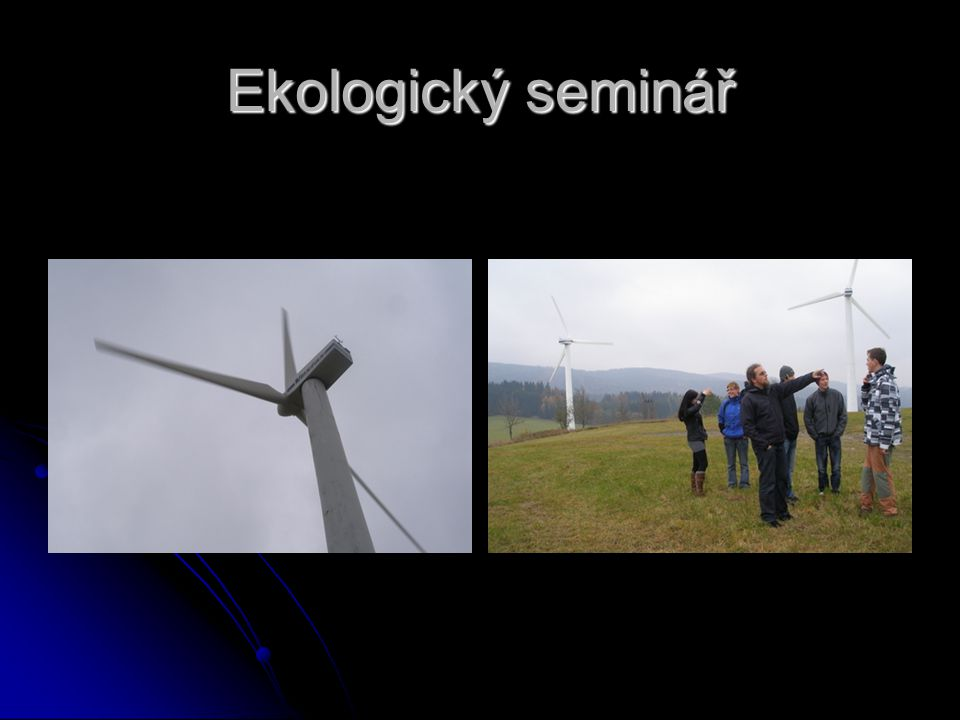 Ekologický seminář