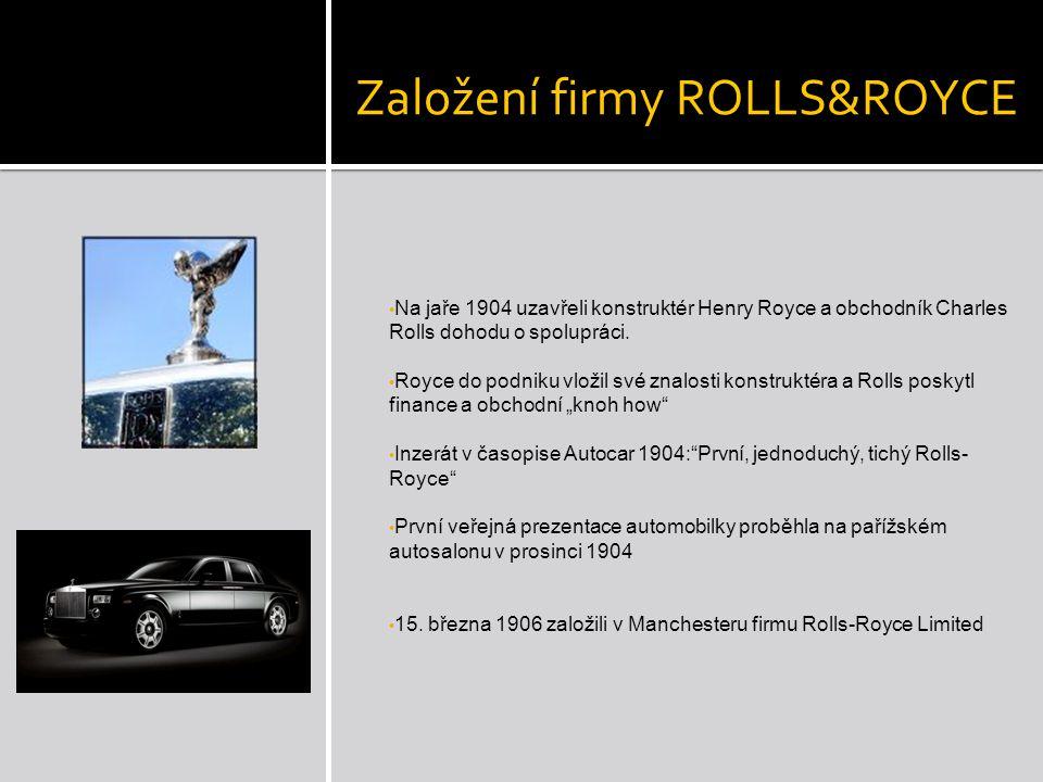 Průnik historií firmy Výroba aut: 1.