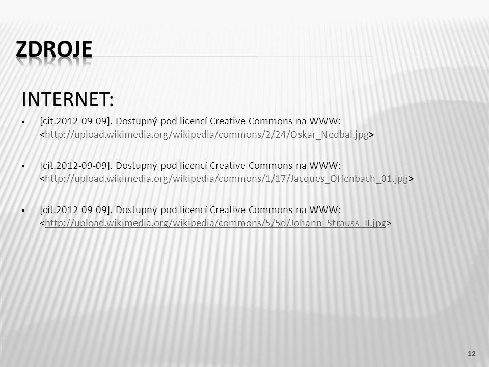 INTERNET:  [cit.2012-09-09]. Dostupný pod licencí Creative Commons na WWW: http://upload.wikimedia.org/wikipedia/commons/2/24/Oskar_Nedbal.jpg  [cit