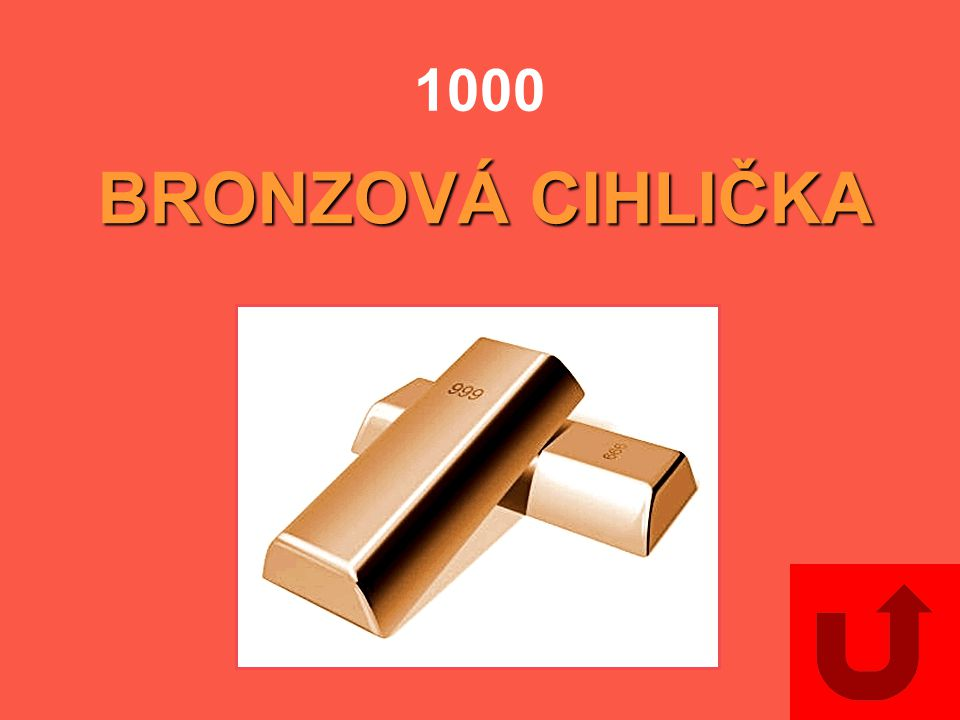 1000 BRONZOVÁ CIHLIČKA