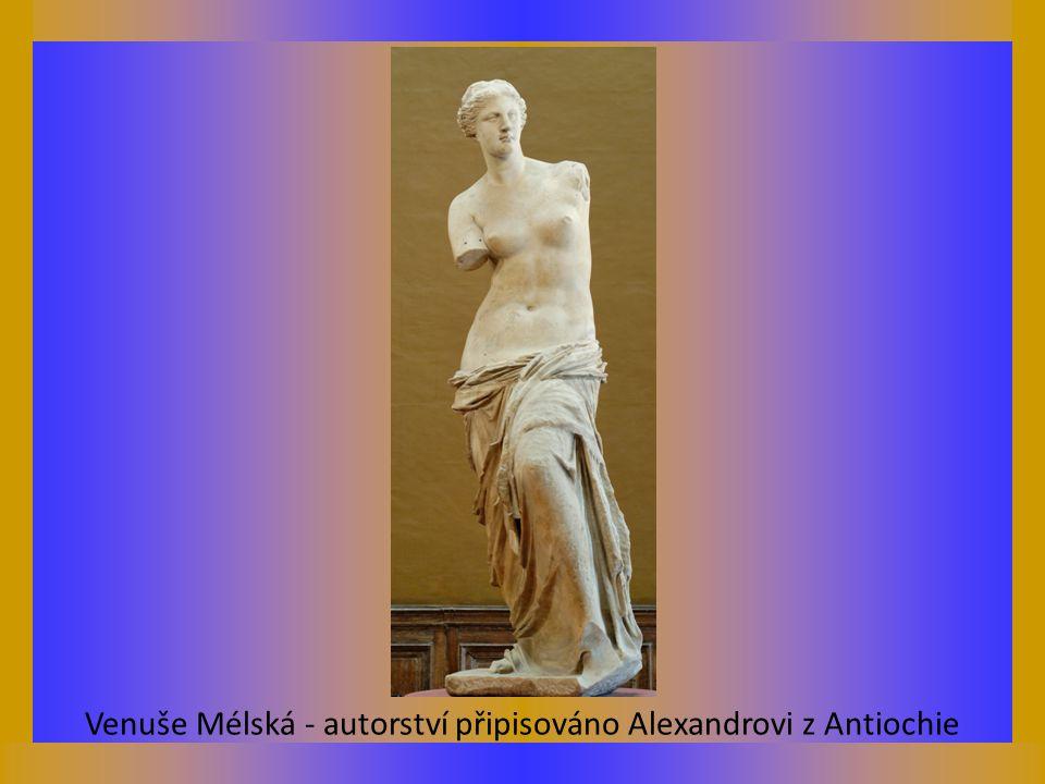 Venuše Mélská - autorství připisováno Alexandrovi z Antiochie