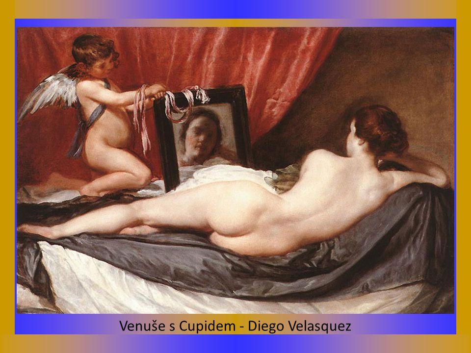 Venuše s Cupidem - Diego Velasquez