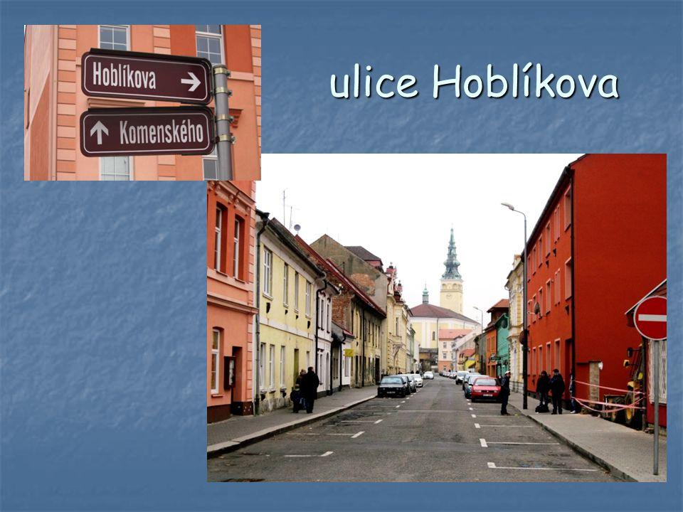 ulice Hoblíkova