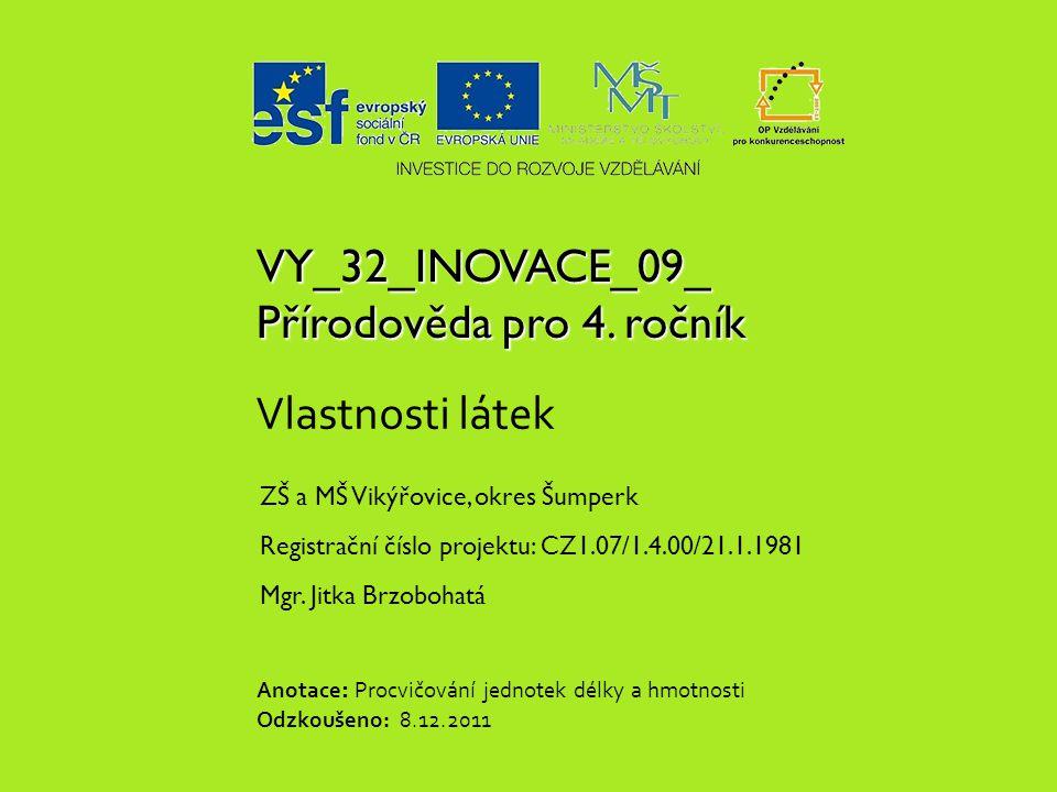 VY_32_INOVACE_09_ Přírodověda pro 4.
