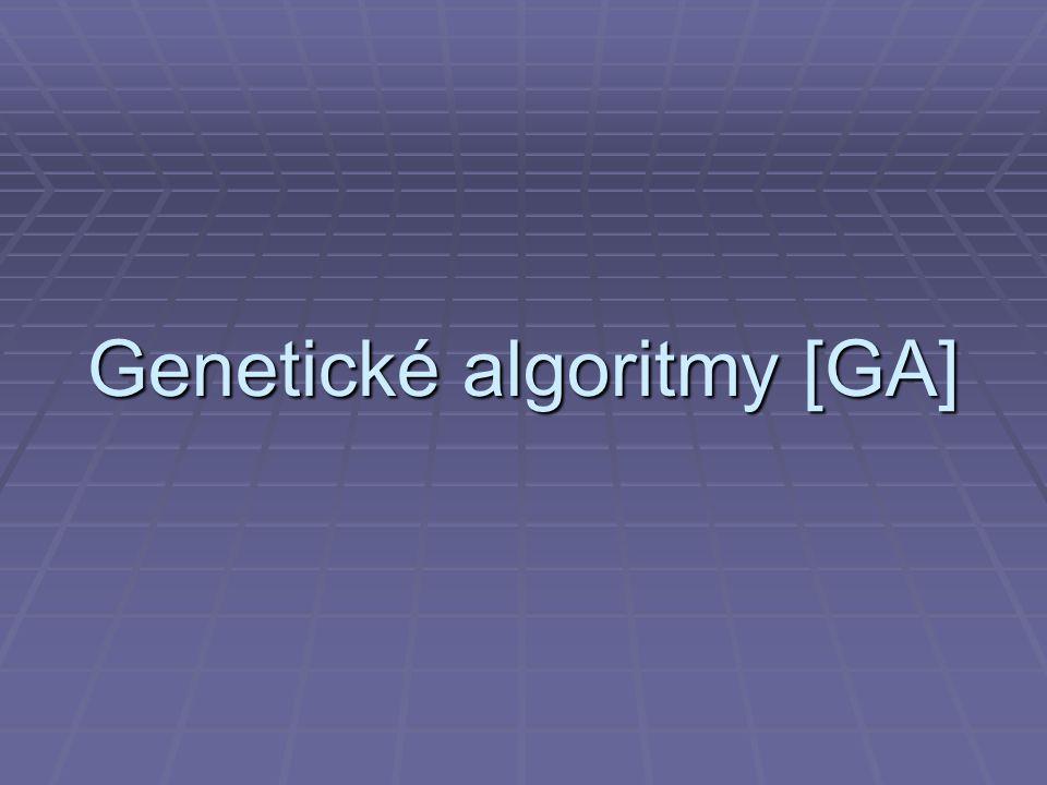 Genetické algoritmy [GA]