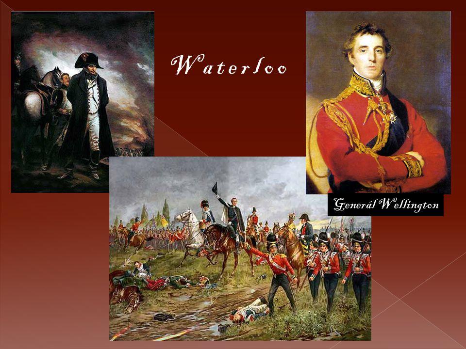 Waterloo Generál Wellington