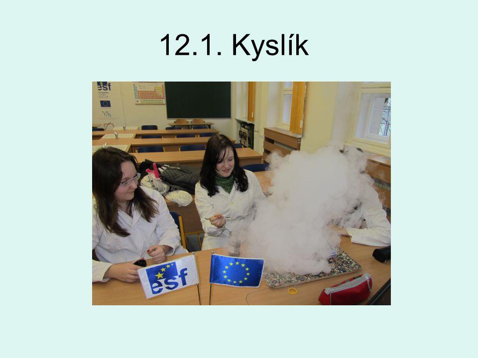 12.1. Kyslík