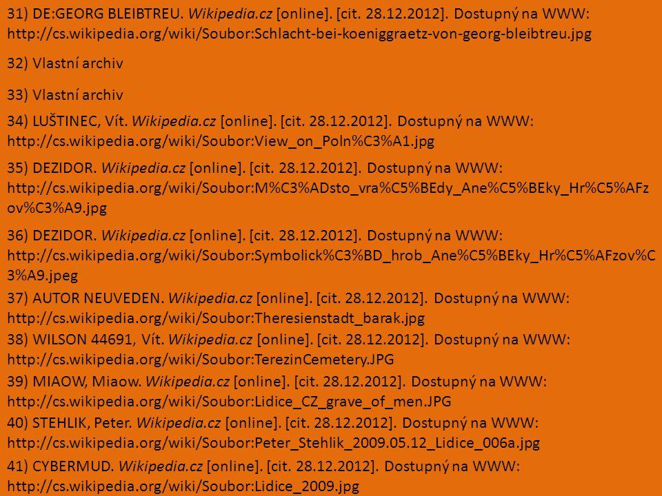 31) DE:GEORG BLEIBTREU. Wikipedia.cz [online]. [cit.