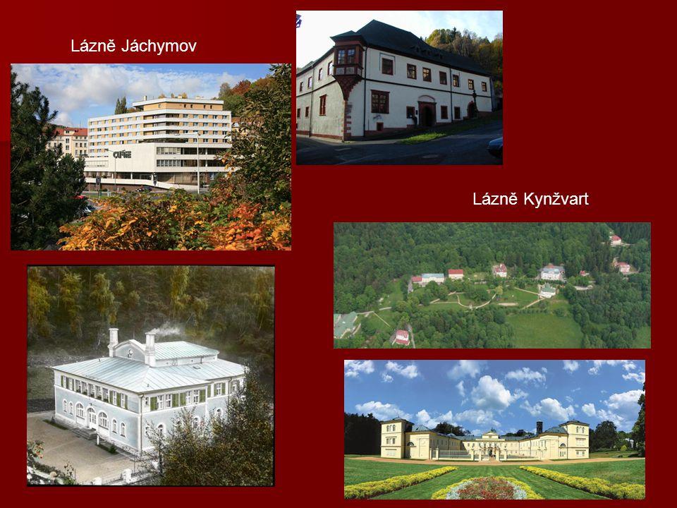 Lázně Kynžvart Lázně Jáchymov