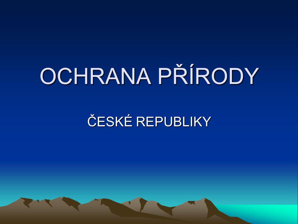 Národní parky v ČR
