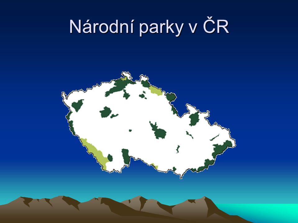 Krkonošský národní park KRNAP Vyhlášen 17.5. 1963.