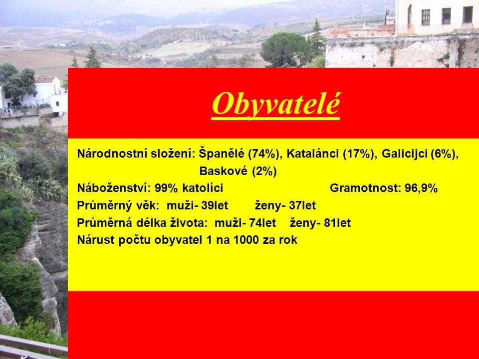Reliéf Více než polovina území tvoří centrální plošina (600-800 m); na severu Kantaberské pohoří; od jihovýchodu k severovýchodu se táhne Kastilské pohoří; na severovýchodě centrální plošina; mezi Španělskem a Francií se táhne pohoří Pyrenejí.