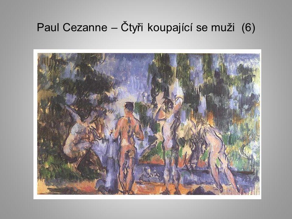 Paul Cezanne – Čtyři koupající se muži (6)