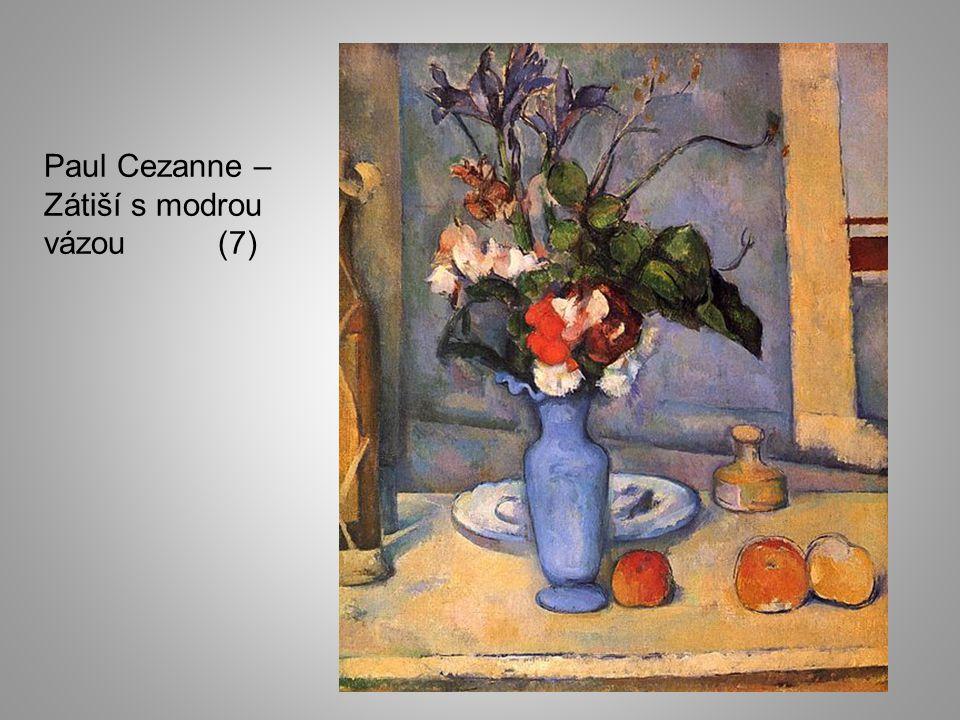 Paul Cezanne – Zátiší s modrou vázou (7)