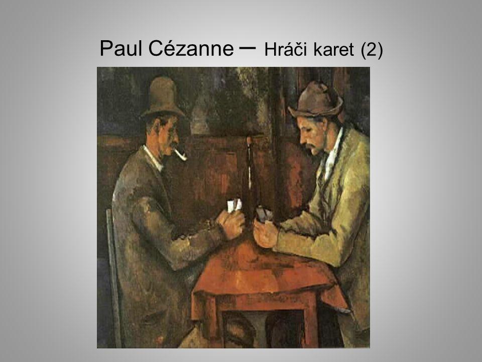 Paul Cézanne – Hráči karet (2)