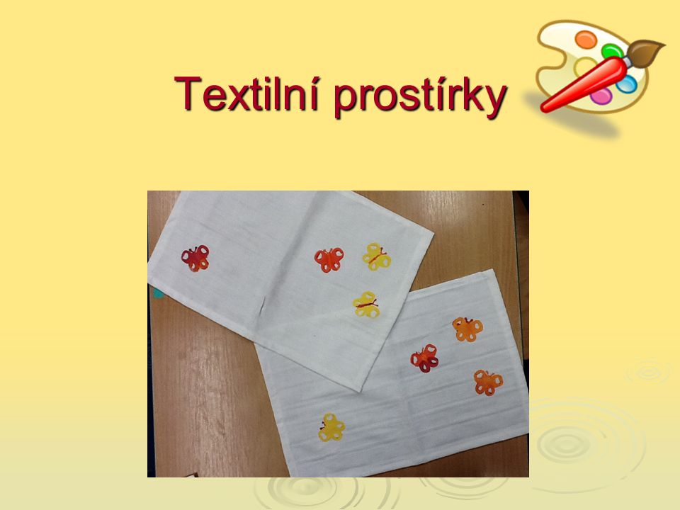 Textilní prostírky