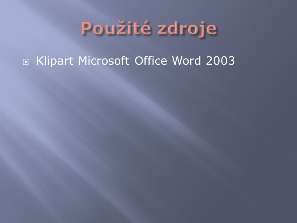  Klipart Microsoft O ffice Word 2003