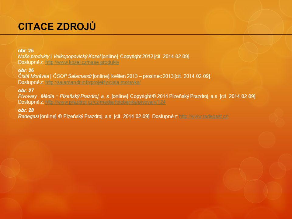 obr. 25 Naše produkty | Velkopopovický Kozel [online]. Copyright 2012 [cit. 2014-02-09]. Dostupné z: http://www.kozel.cz/nase-produktyhttp://www.kozel