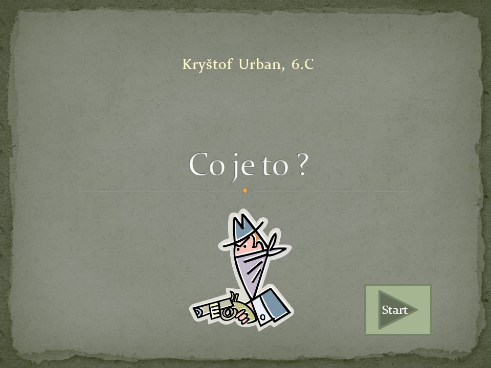 Kryštof Urban, 6.C Start