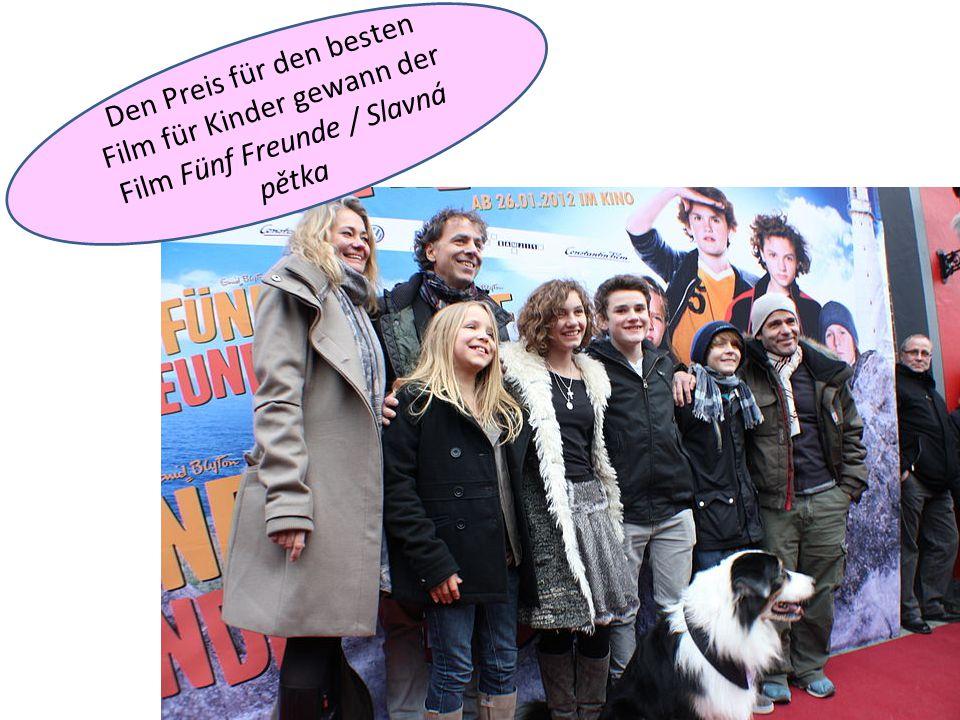Den Preis für den besten Film für Kinder gewann der Film Fünf Freunde / Slavná pětka