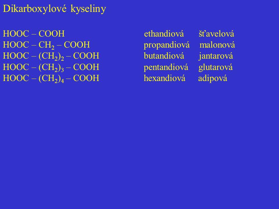 - primárních alkoholů a aldehydů