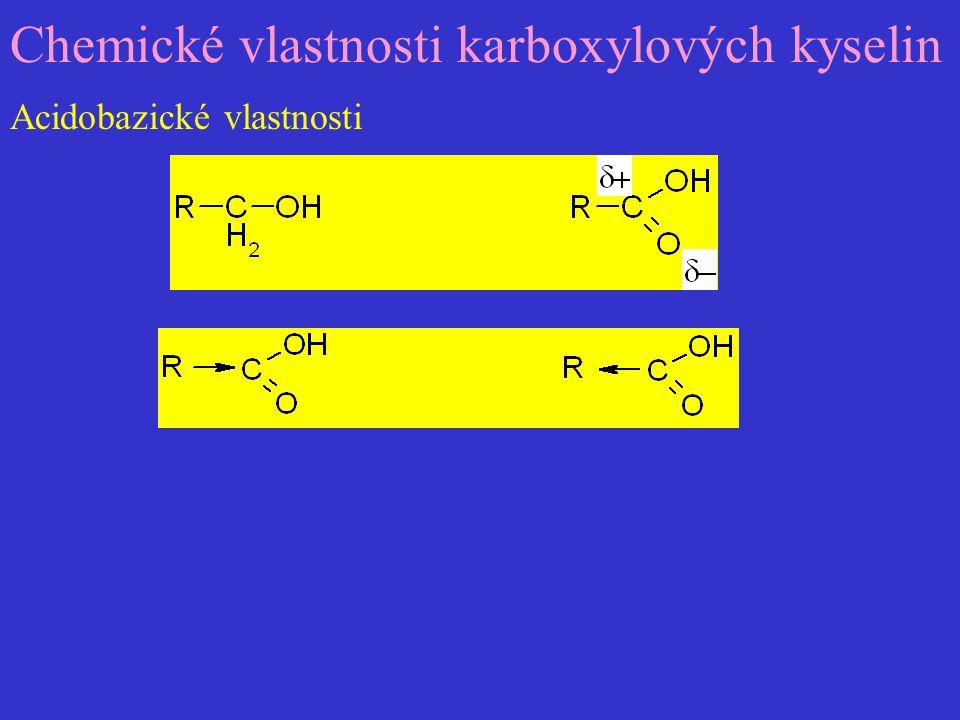 Hydrolýzou funkčních derivátů karboxylových kyselin