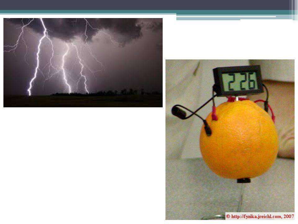Spojením několika článků za sebou vznikne zdroj většího napětí – baterie.