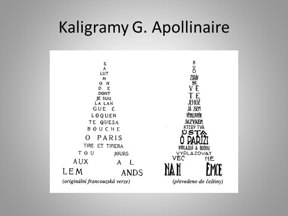 Kaligramy G. Apollinaire