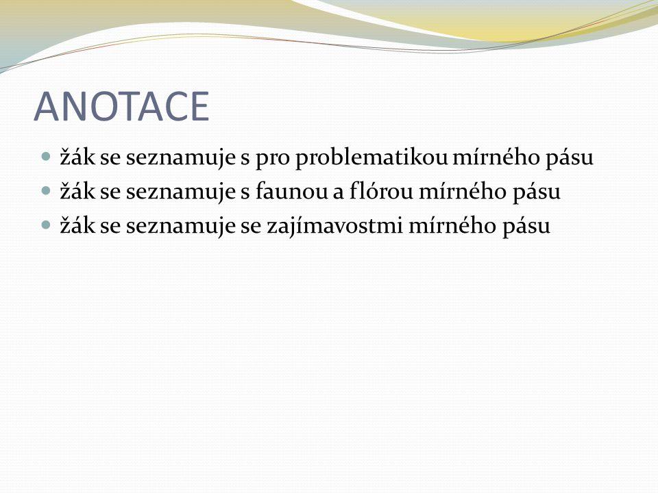 Česká republika - CHKO Broumovsko