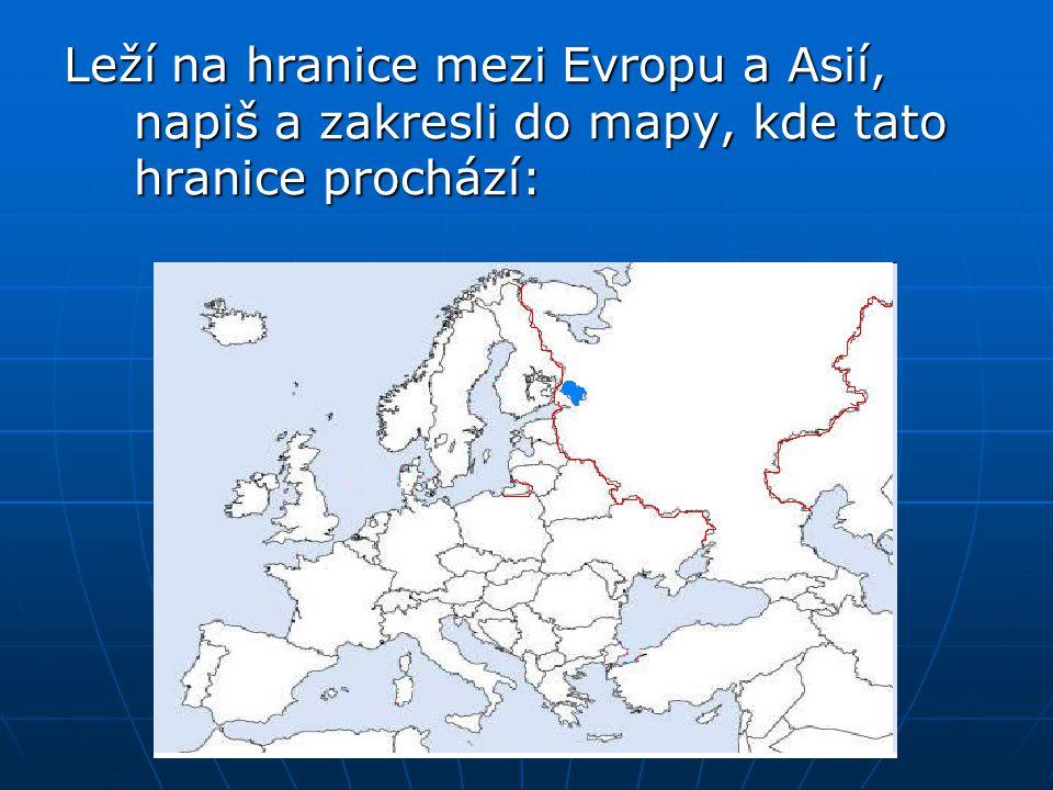 Vyber správnou odpověď: Černé uhlí se těží: a) u Moskvy b) Pečorská pánev c) Kamčatka V těžbě zemního plynu je Rusko na: a) 1.