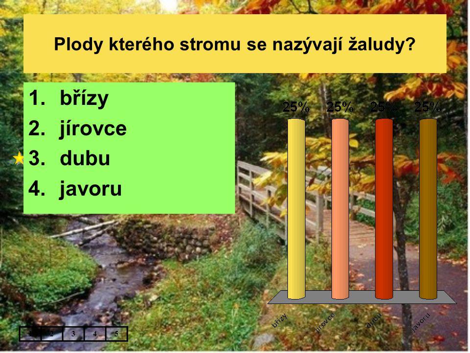 Jaké lesy měl na mysli autor české hymny ..bory šumí po skalinách… .