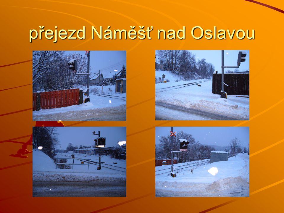 přejezd Náměšť nad Oslavou