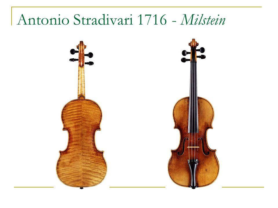 Antonio Stradivari 1716 - Milstein