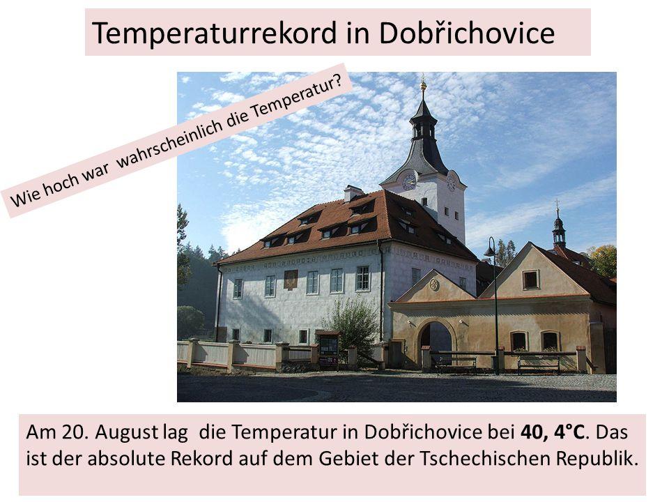 Anfang September brach in Tschechien die so genannte Methanolaffäre aus.