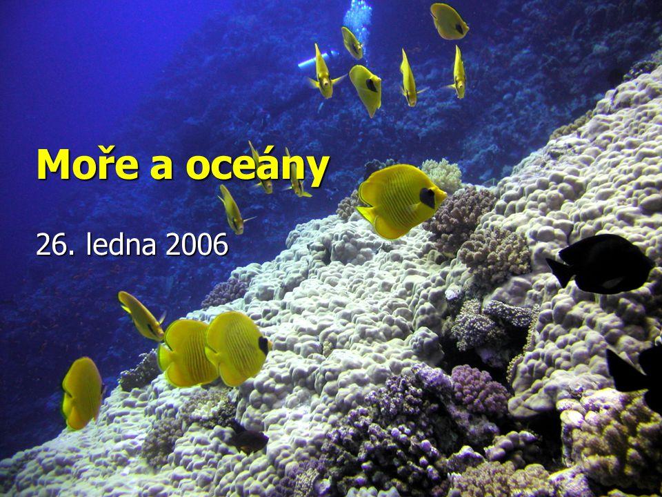 Oceány a moře CO BUDU PO DNEŠKU UMĚT .