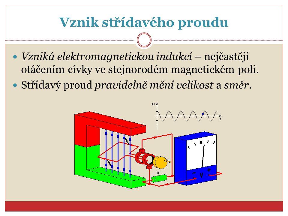 Generátory elektrického napětí Stroje, které přeměňují mechanickou energii na elektrickou Pracují na principu elektromagnetické indukce.